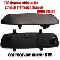 2.7 inch lusterka samochodowe DVR night vision samochodów comcorder 120 stopni szerokokątny wysokiej jakości