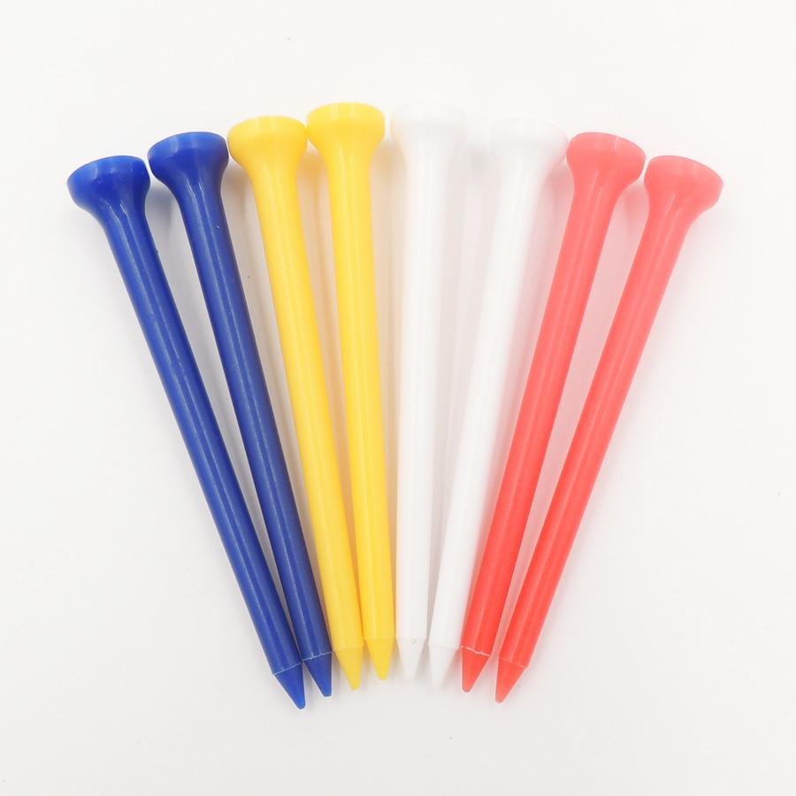 50pcs/lot Mixed color Golf tee plastic golf tee