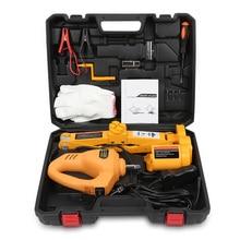 12 В в автомобиль электрический гидравлический домкрат подъемный набор ударный гаечный ключ инструмент Professional инструменты коробка придорожные шины Замена