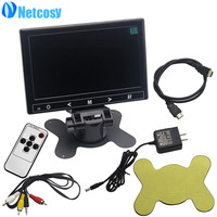 Netcosy 7 1024 600 HD Display 17 8cmx11 8cm LCD Screen Display AV VGA HDMI Monitor