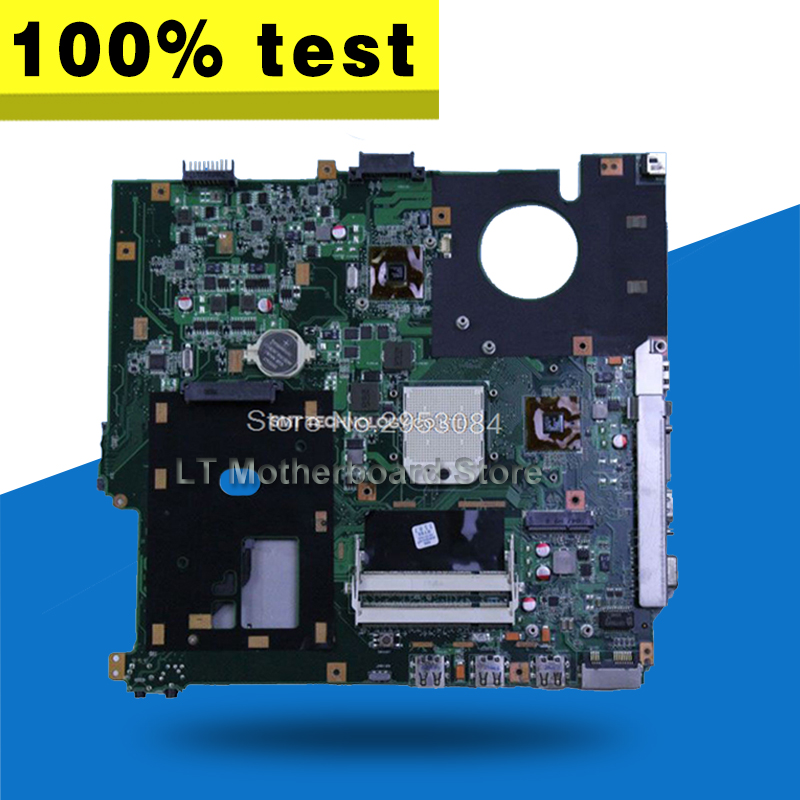 F50Z Motherboard Processor For ASUS F50Z Laptop motherboard F50Z Mainboard F50Z Motherboard test 100% OK g73sw for asus motherboard rev2 0 hm65 4ram slots 3d connector 90r n3imb1000y mainboard full test