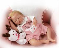 20 дюймов 50 см NPK силиконовые Возрожденные куклы реалистичные куклы новорожденных Моделирование ребенка juguete bebes возрожденная менина bonecas