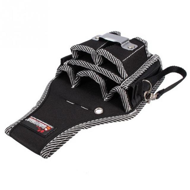 Brand New 9in1 Electricians Waist Pkt Tool Belt Pouch Bag Screwdriver Carry Case Holder Outdoor Working Tool Belt Pouch