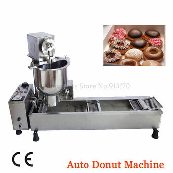 Automatic Donut Maker | Donut Fryer Automatic Donuts Producer Small Doughnut Auto Production Line 220V/110V 3000W 3 Molds Bakehouse Catering Industrie