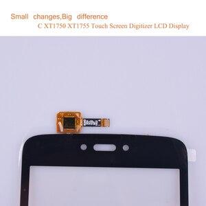 "Image 5 - Super Qualität 5,0 ""Für Motorola Moto C Touch XT1750 XT1755 XT1754 XT1756 Touchscreen Digitizer Front Glas Panel Sensor schwarz"