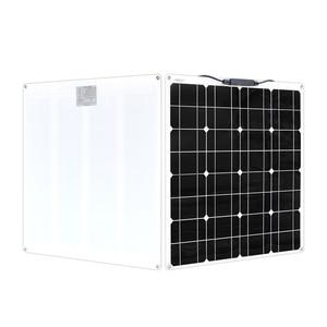 Image 3 - Flessibile pannello Solare 200w 100w 50w 12v Caricatore Solare Sistema Home per Auto CAMPER Barca Caravan 1000w PV Modulo 540*530*3 millimetri Impermeabile