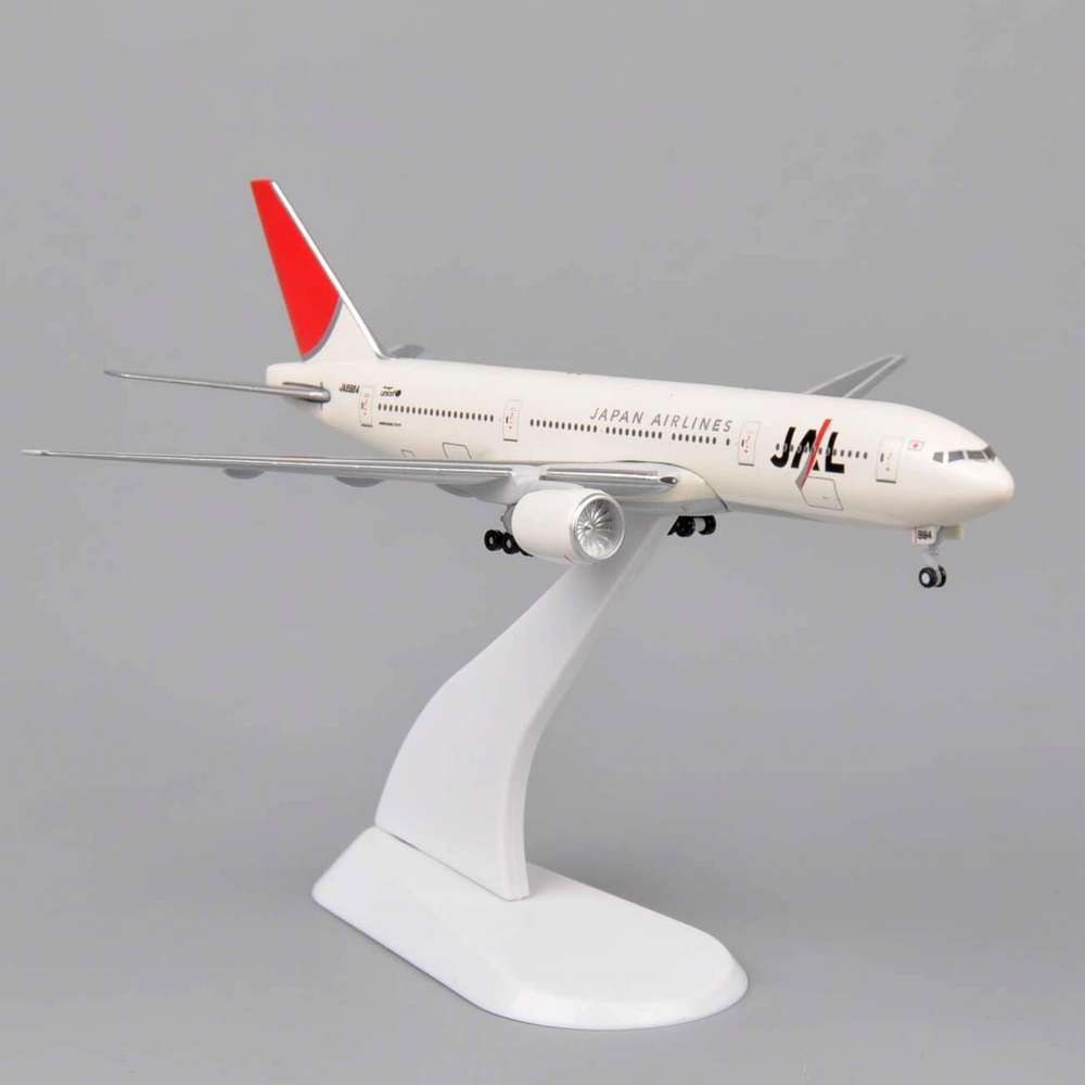 1:400 Scale Japan Airlines JA8984 Diecast Airplane Model Toy Vehicles White Mini...