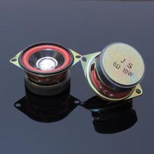 2pcs 2 인치 52mm 8 옴 10 w hi fi 서브 우퍼 스피커 오디오 슈퍼베이스 우퍼 라우드 스피커 diy