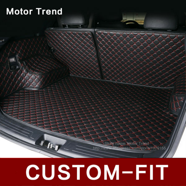 Custom fit bagagliaio di un'auto stuoia per Infiniti EX25 FX35/45/50 G35/37 QX80/56 3D all weather car styling vassoio carpet cargo liner