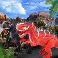 Классические детские электрические игрушки с динозавром 42 см большой ходячий робот-динозавр со световым звуком spinosaurus детские развивающие ...