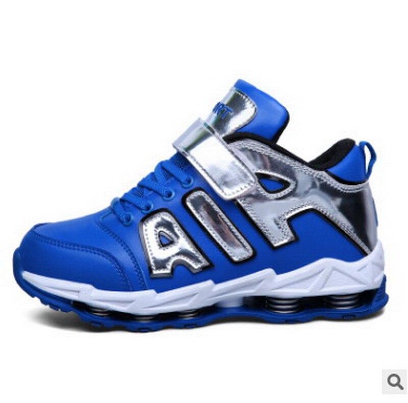 Баскетбольная обувь для детей 2018 Новый Одежда высшего качества детская спортивная обувь фабрики Китая прямые кроссовки для мальчиков и дев...