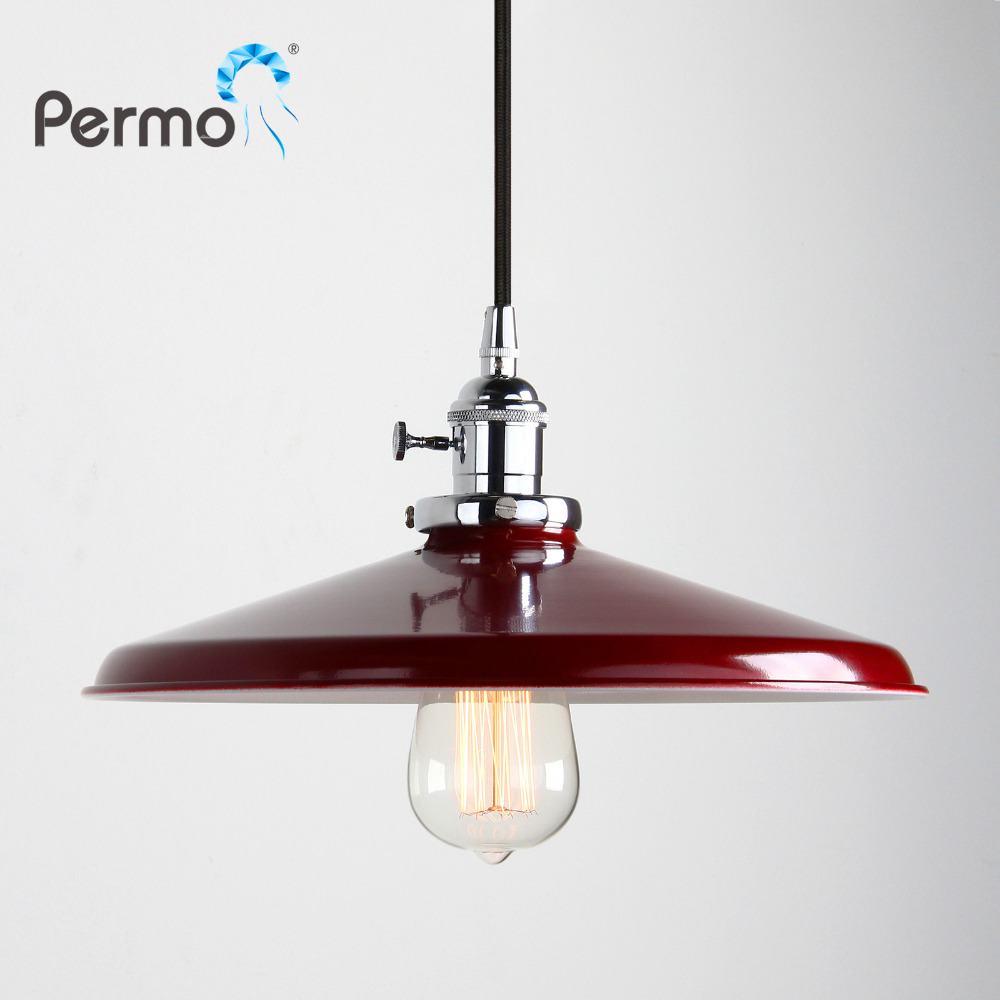 Permo 11.8 Vintage Metal Pendant Lights Retro Loft Pendant Ceiling Lamps Modern Hanglamp fixtures Christmas lights LuminairePermo 11.8 Vintage Metal Pendant Lights Retro Loft Pendant Ceiling Lamps Modern Hanglamp fixtures Christmas lights Luminaire