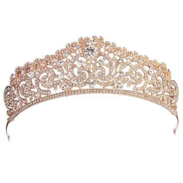 Women's Crystal Embellished Tiara