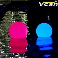 Precio 20 cm PE plástico resistente al agua Bola de iluminación para boda evento Fiesta Bar