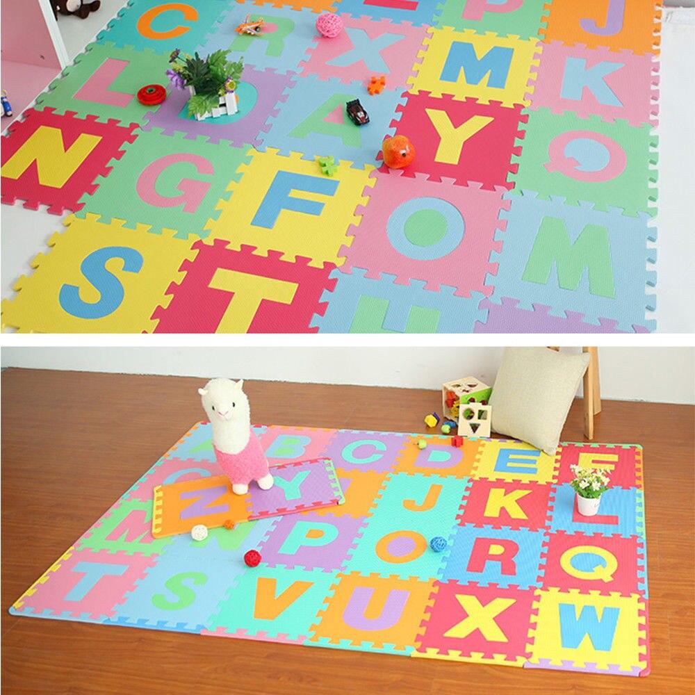 10-20-30-40PC Kids Children Play Mat Living Room Garden Jigsaw Foam Puzzle Mat