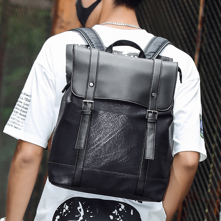New Men s Fashion Nylon Backpack Tide Male Leisure Sports Package Business Travel Simple All Match