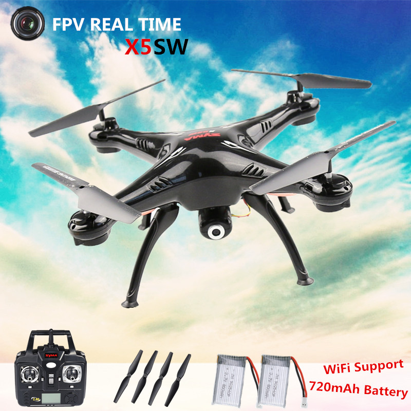 Original WIFI FPV Real Time 2 4G 6 Axis Syma X5 X5SW RC font b Drone