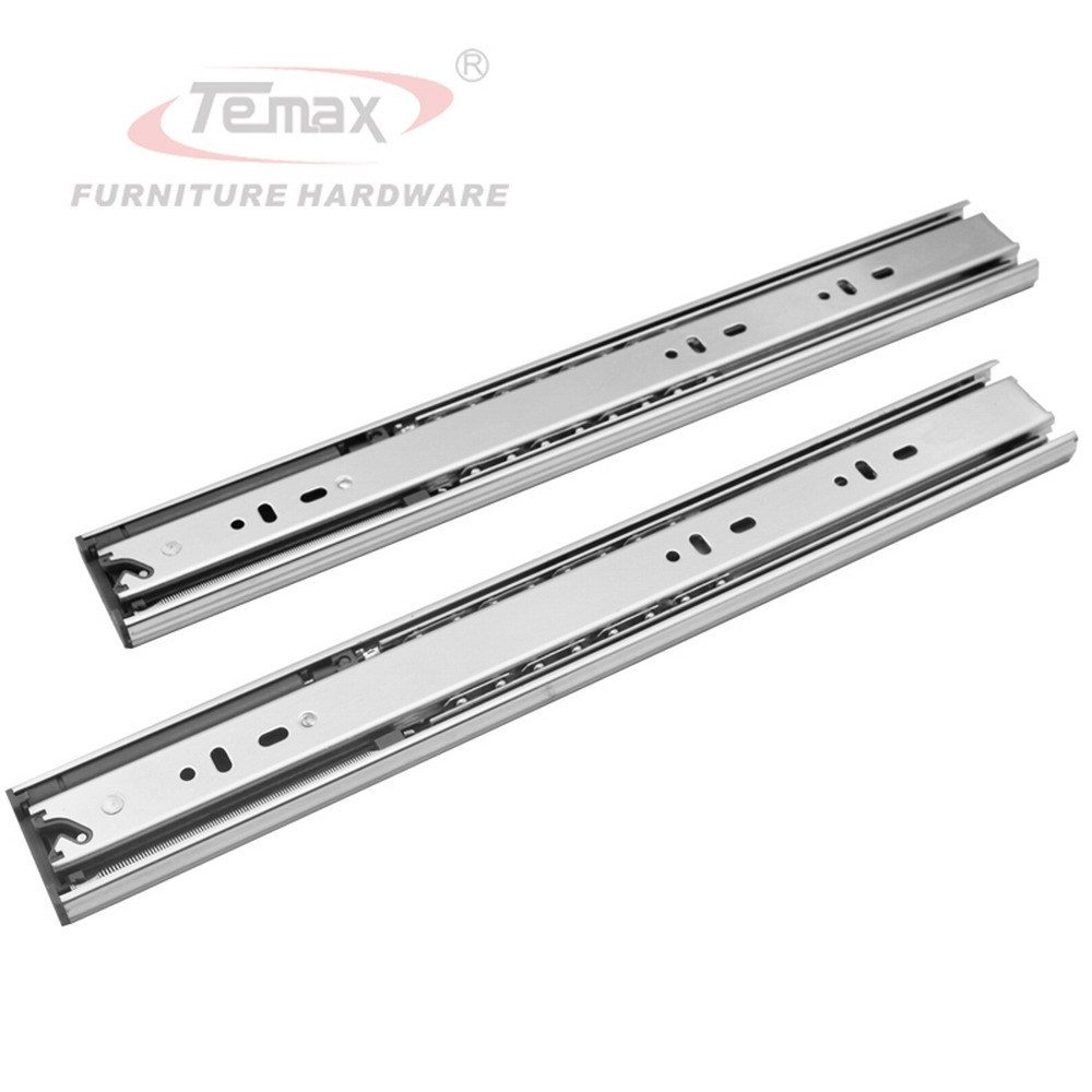 NEW 16 Full Extension steel Ball Bearings Hydraulic Soft Close Drawer Slide Runner Rail Furniture Hardware Cabinet Glides 4pcs naierdi c serie hinge stainless steel door hydraulic hinges damper buffer soft close for cabinet kitchen furniture hardware