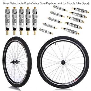 الفضة انفصال بريستا صمام الأساسية استبدال ل دراجة MTB/الطريق دراجة صمام الأساسية بريستا إلى شريدر الفرنسية مضخة هواء ValveZ95
