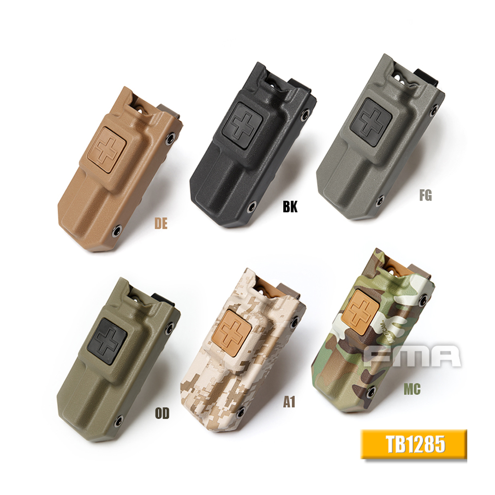 1 PCS Outdoor Tools Hunting Application Tourniquet Case Molle EMT Tourniquet Carrier Pouch Storage Bag Box Holder Case