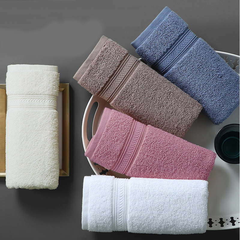 5 PIECES/set Christine Hand Towel Pakistan Cotton Luxury Square Towel Super Absorbent 30x50cm 80g Hotel Gift Sport Travel