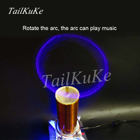 Tesla Coil Tesla Coil Music Rotary Tesla Electronics Diy Production Suite Ion Windmill