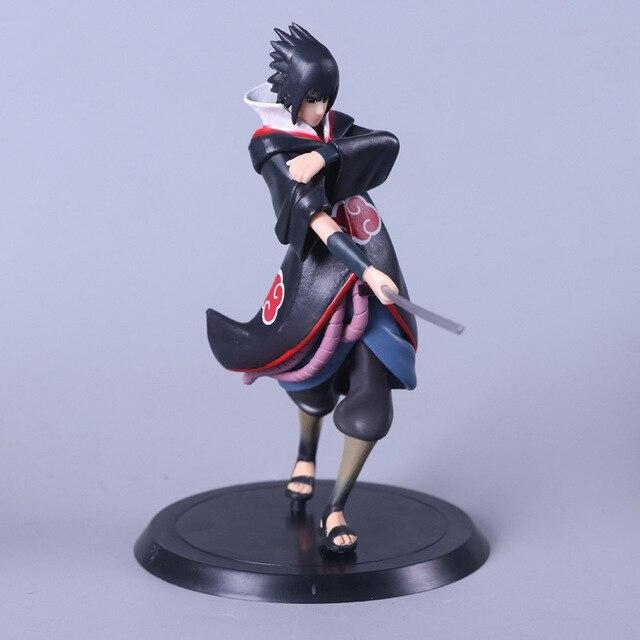 Naruto Sasuke Uzumaki  PVC Q Version Action Figures Toy