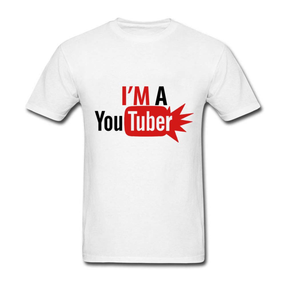 Design t shirt youtube - Fashion Men T Shirts New Design I M A Youtuber High Quality Tees Top Crew Neck Cotton Short Sleeve Mens T Shirt Camisetas