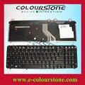 Глянцевый черный клавиатура для ноутбука для HP pavilion DV6 DV6T DV6-1000 DV6-1200 DV6T-1100 DV6T-1300 DV6-2000 DV6T-1000 Клавиатура США