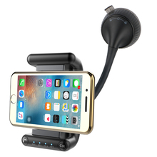 Multi-function Car Holder Vehicle mount Bluetooth Handsfree Phone 5v 2A Output Usb Car charger U-disk MP3 Player smartphon stand