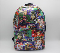 JoJo S Bizarre Adventure Printing Backpack Boys Girls School Bags Young Men Women Daily Backpack Children