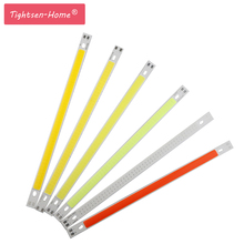 DC12V 10W 200x10MM COB LED Light Strip chip diode strip for Pure White Warm white blue green red DIY 20cm car lighting project