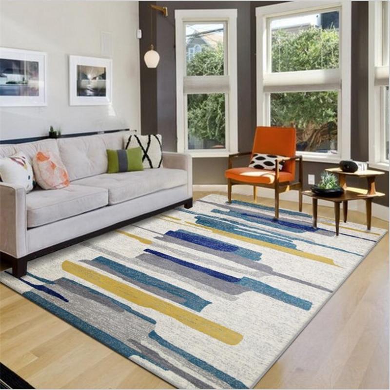 Hot Sale Simple Design Delicate Carpets For Living Room Bedroom Kid Room Rugs Home Carpet Floor Door Mat Fashion Area Rug Mats