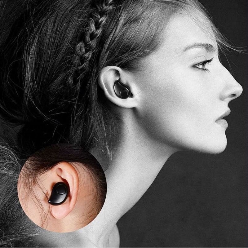 S530 Plus Mini Bluetooth Headset Wireless Blutooth Earphone Micro Earpiece Microphone Sport Earphones For xiomi Samsung sony