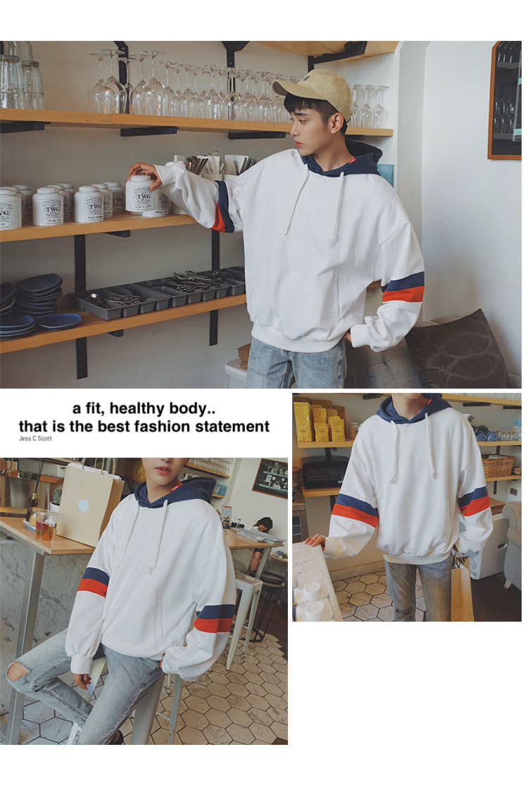 Long Sleeve Patch Sweatshirts
