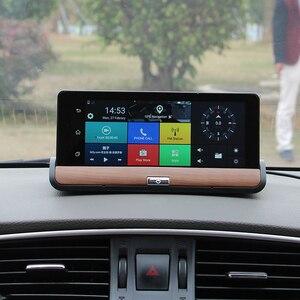 Image 3 - XST caméra DVR Full HD 5.0 P, dashcam, 7 pouces, IPS, Wifi 3G, Android 1080, Navigation GPS, enregistreur vidéo, Bluetooth, double objectif