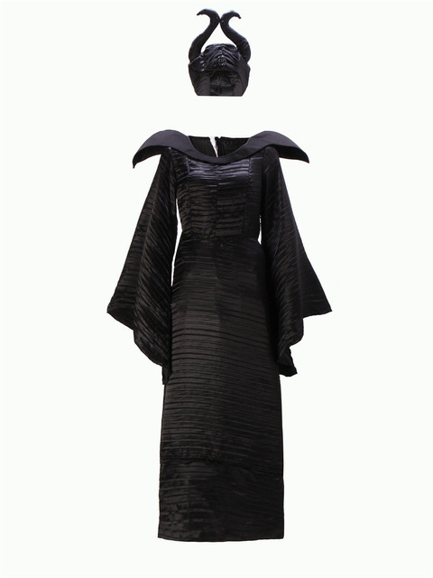 Halloween Party Adult Women Fantasia Sexy Maleficent Costume Sleeping Beauty Evil Witch Cosplay Fancy Dress