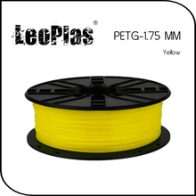 Worldwide Fast Delivery Direct Manufacturer 3D Printer Material 1kg 2.2lb 1.75mm Yellow PETG Filament