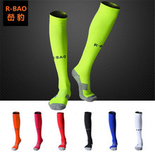 2 Pairs R-BAO RB6603 Soccar Socks 80% Cotton Football Outdoor Mens Sports Fit to Size 39-44