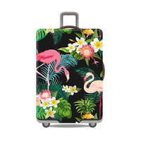 Flamingo Series Luggage Protective Cover Men S Women S Elastic Suitcase Travel Case Famale Trolley Dust