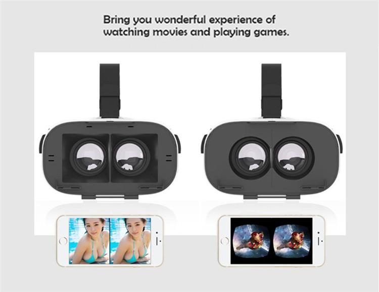 FIIT VR 3D Virtual Reality Video Helmet Cardboard 2.0 VR Glasses Box for 4.0-6.5 inch Smartphone Lightweight Ergonomic Design (7)