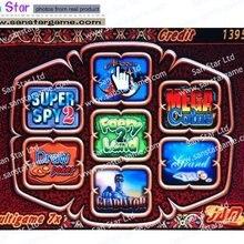 Многоигровая печатная плата 7X с 60-95 процентами для игровых машин для казино игровой автомат PCB казино игровой PCB