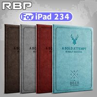 RBP For Apple IPad 2 3 4 Case Smart Wake For IPad 4 Case Cover Ultra