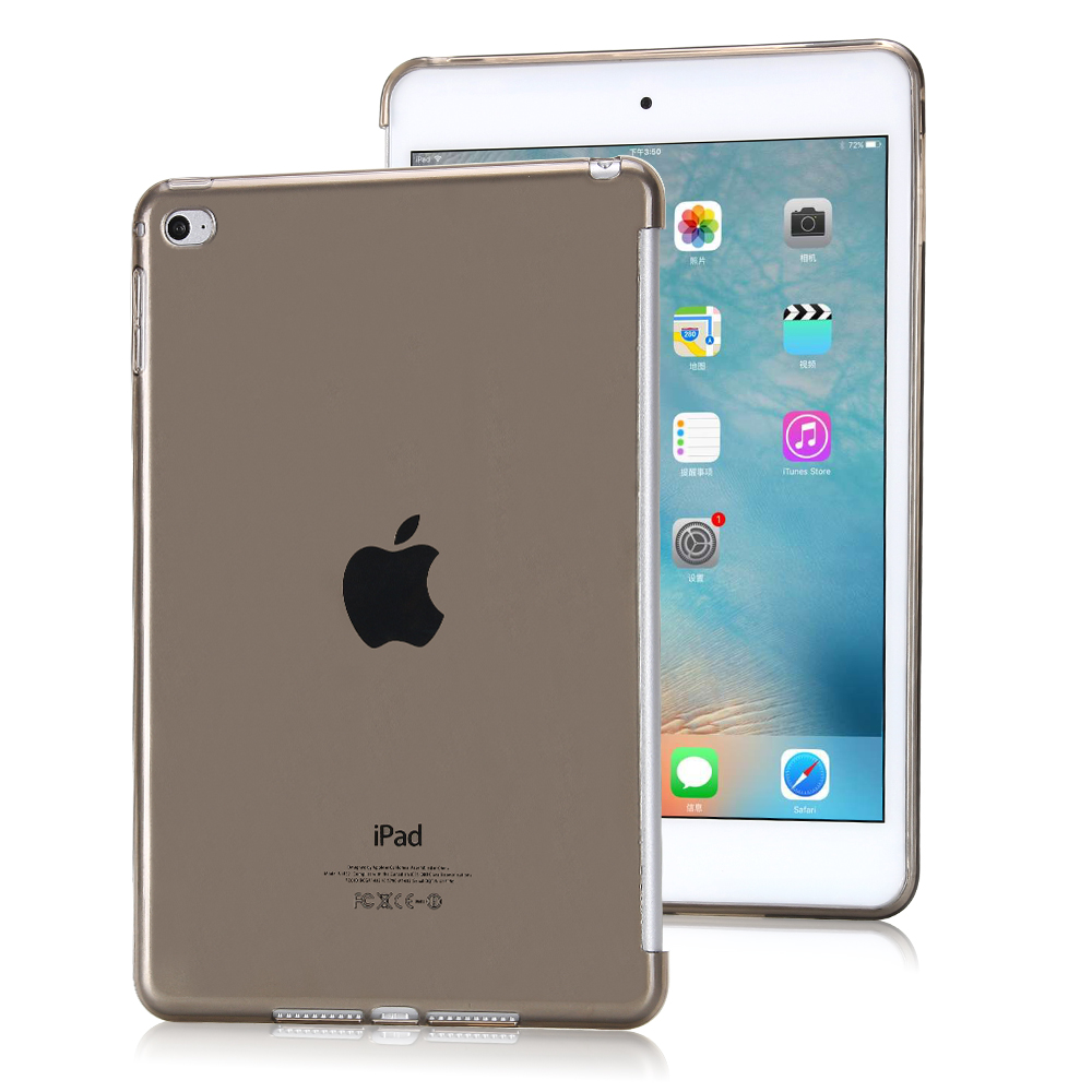 Soft TPU Case Cover for Apple IPad Mini 4 Case,Crystal Clear Transparent Case for Apple IPad Mini 4, 7.9 inch Tablet Case