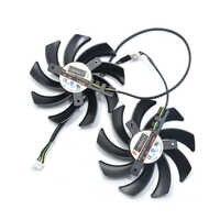 85mm fd7010h12s 4pin substituição dupla do ventilador refrigerador para palit geforce gtx 1070 1060 1080 duplo oc gtx1060 placa gráfica