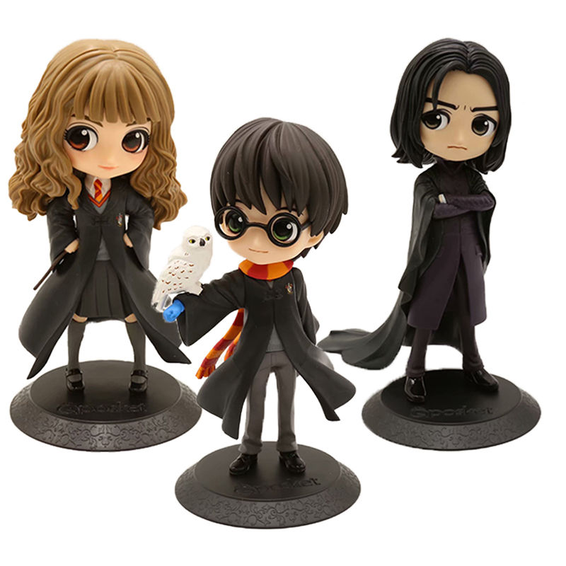 QPosket Snape Granger Weasley Granger Draco Malfoy Newt Action Figure Toy Doll Christmas Gift