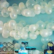 12 transparent latex balloon magic props ball set marriage decoration