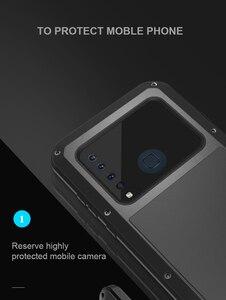 Image 5 - Per Samsung Galaxy A9 2018 custodia LOVE MEI antiurto resistente allacqua custodia protettiva in metallo per Samsung Galaxy A9s