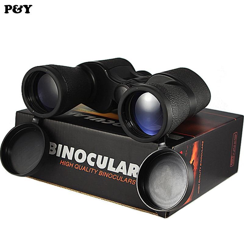 Original Binoculars 20x50 High power HD Shimmer Optical Lenses Telescope for Hunting Spotting Scope No Tripod