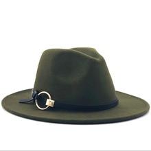 Шерстяная фетровая шляпа Hawkins фетровая Кепка с широкими полями дамская шляпа Trilby Chapeu Feminino шляпа для женщин и мужчин джазовая церковная Крестный отец шляпы сомбреро